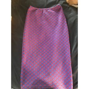 American Apparel Mid Length Pencil Skirt